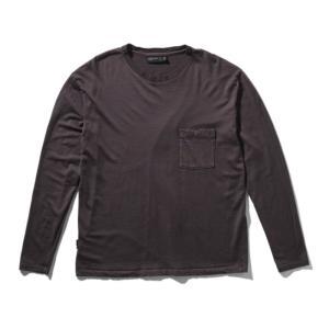 アウトドアシャツ icebreaker ネイチャー ダイド ロングスリーブ ポケット クルー Men's M BU(ブドウ)|naturum-od