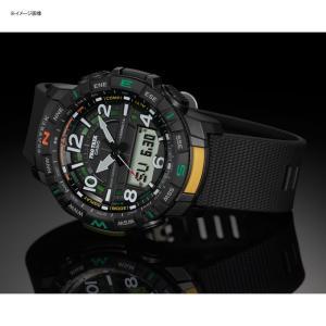 アウトドアウォッチ・時計 プロトレック 国内正規品 PRT-B50-2JF 10気圧防水 モバイイルリンク機能 ブルー|naturum-od|02