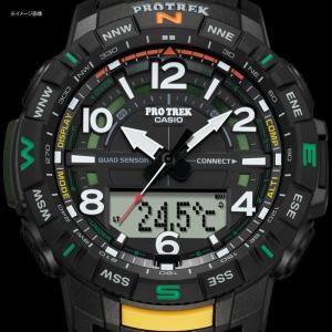 アウトドアウォッチ・時計 プロトレック 国内正規品 PRT-B50-2JF 10気圧防水 モバイイルリンク機能 ブルー|naturum-od|11