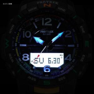アウトドアウォッチ・時計 プロトレック 国内正規品 PRT-B50-2JF 10気圧防水 モバイイルリンク機能 ブルー|naturum-od|12