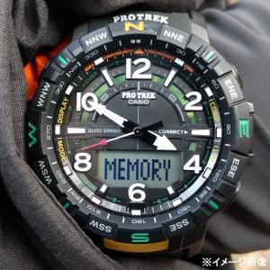 アウトドアウォッチ・時計 プロトレック 国内正規品 PRT-B50-2JF 10気圧防水 モバイイルリンク機能 ブルー|naturum-od|16