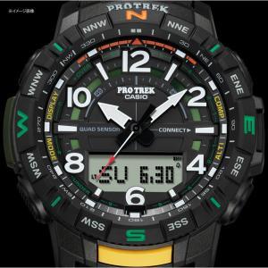 アウトドアウォッチ・時計 プロトレック 国内正規品 PRT-B50-2JF 10気圧防水 モバイイルリンク機能 ブルー|naturum-od|03