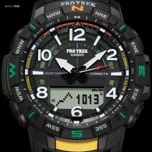アウトドアウォッチ・時計 プロトレック 国内正規品 PRT-B50-2JF 10気圧防水 モバイイルリンク機能 ブルー|naturum-od|08