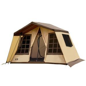 テント ogawa オーナーロッジ タイプ52R サンドベージュ×ダークブラウン|naturum-od