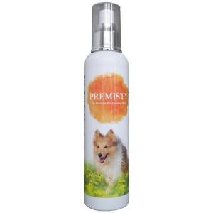 犬用お手入れ用品 タイムクリップ PREMISTY(プレミスティー)ペット用クレンジングスプレー・ドライシャンプー 250ml naturum-od