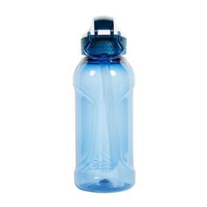 水筒・ボトル・ポリタンク ケシュア ワンタッチボトル900 トライタン ストロー付 0.5L ティールブルー naturum-od