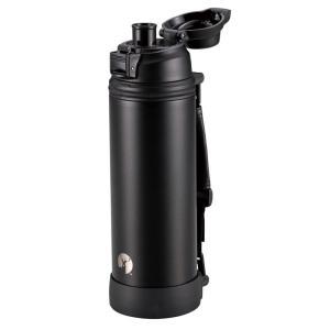 水筒・ボトル・ポリタンク キャプテンスタッグ HDダイレクトドリンクボトル1000 1L ブラック|naturum-od