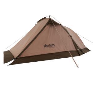 テント ロゴス 2021年新商品 Tradcanvas ツーリングドゥーブル・SOLO-BA|naturum-od
