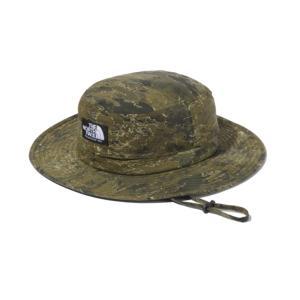帽子・防寒・エプロン ザ・ノースフェイス 21春夏 NOVELTY HORIZON HAT(ノベルティ ホライズン ハット)ユニセックス M クラウドカモグリーン(CC)|naturum-od