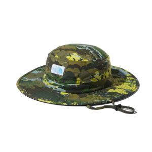 アウトドアウェア ザ・ノースフェイス 21春夏 K NOVELTY HORIZON HAT(ノベルティー ホライズン ハット)キッズ KM SSクラウドカモ(SC)|naturum-od