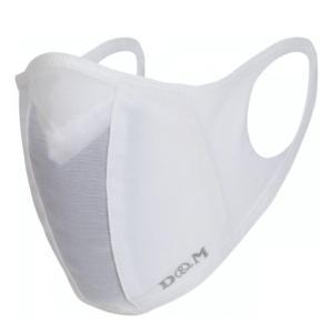 D&M  サポーターメーカーのランナーマスク M ホワイト naturum-od