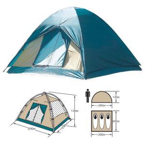 テント キャプテンスタッグ クレセント3人用ドームテント|naturum-od