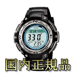 アウトドアウォッチ・時計 カシオ 国内正規品 SGW-100J-1JF 方位&温度計測ツインセンサーモデル|naturum-od