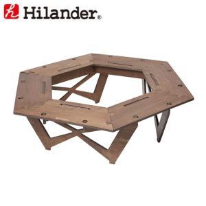 ハイランダー プライウッドヘキサゴンテーブル|naturum-od