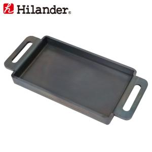キッチンツール ハイランダー 焚き火鉄板(超極厚6mm) 中