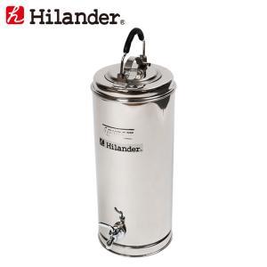 水筒・ボトル・ポリタンク ハイランダー ステンレスウォータージャグ 5Lロング|naturum-od