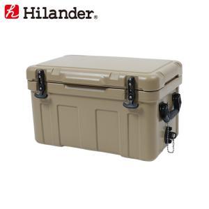 キャンプクーラー ハイランダー ハードクーラーボックス 35L タン|naturum-od