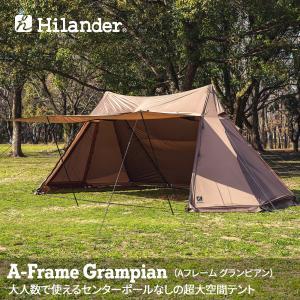テント ハイランダー A型フレーム グランピアン|naturum-od