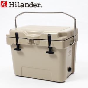 キャンプクーラー ハイランダー 数量限定特別価格 ハードクーラーボックス(旧タイプ) 25L タン|naturum-od