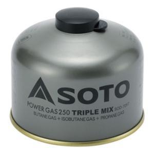 ガス燃料 SOTO パワーガス250トリプルミックス|naturum-od