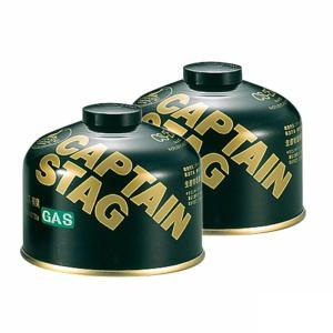 ガス燃料 キャプテンスタッグ レギュラーガスカートリッジCS-250 お得な2点セット|naturum-od