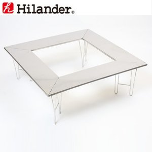 ハイランダー 焚火用ステンレステーブル|naturum-od