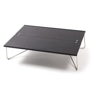 アウトドアテーブル SOTO ポップアップソロテーブル フィールドホッパー ナチュラム別注カラー マットブラック naturum-od