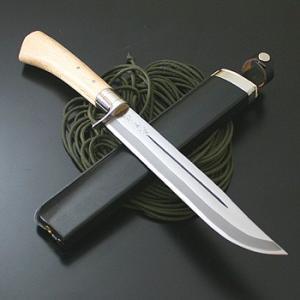 アウトドアナイフ 関兼常 狩猟刀剣鉈・両刃 240mm|naturum-od