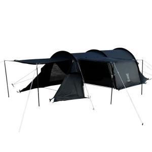 テント DOD カマボコテントソロUL ブラック|naturum-od