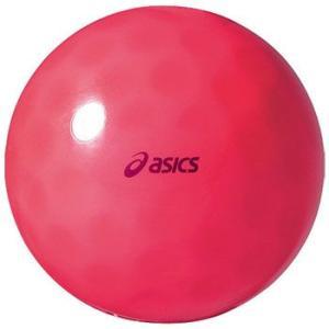 球技用品 アシックス クリアボール ディンプルSH フリー 23(レッド)|naturum-outdoor
