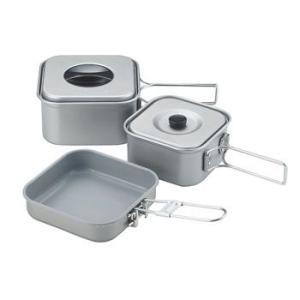 ■ジャンル:調理器具・調理用品/クッカーセット/アルミ製ソロクッカーセット ■メーカー: ユニフレー...