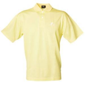 テニスウェア ルーセント Uni ポロシャツ L ライトイエロー naturum-outdoor