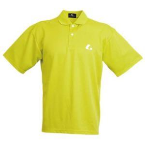 テニスウェア ルーセント Uni ポロシャツ L ライム naturum-outdoor