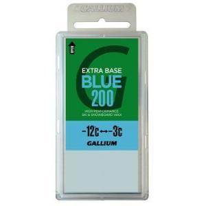 外遊びグッズ ガリウム EXTRA BASE ワックス SW2078 -12度から-3度 全雪質 200g BLUE|naturum-outdoor