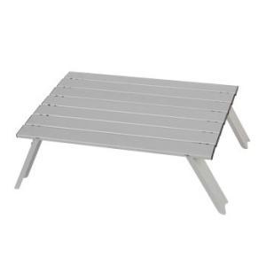 アウトドアテーブル キャプテンスタッグ ロースタイル アルミロールテーブル
