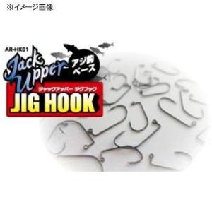 フック&シンカー アルカジックジャパン ジャックアッパージグフック #10 ブラックニッケル