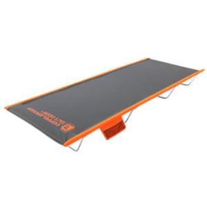 ベッド D.O.D ワイドキャンピングベッド グレー×オレンジ|naturum-outdoor
