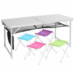 テーブル DOD ハッピーテーブルセット ホワイト...