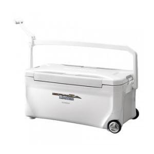 フィッシングクーラー シマノ スペーザ リミテッド 350 キャスター付 35L ピュアホワイト|naturum-outdoor