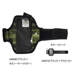 アディダス AJP-KBQ29 ランニングモバイルポーチ NS A96079(ブラック×グラナイト) naturum-outdoor
