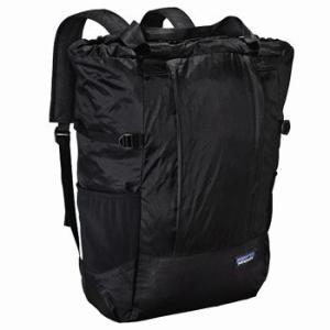 パタゴニア Lightweight Travel Tote Pack(ライトウェイト トラベル トート パック) 22L BLK(Black×Black)|naturum-outdoor