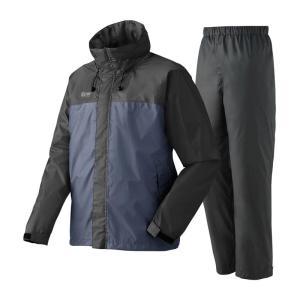 ロゴス 蒸れを追放・LVS透湿レインスーツ チェスター 3L 25(チャコール)|naturum-outdoor