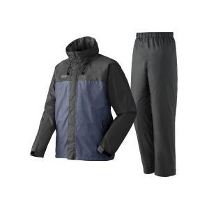 ロゴス 蒸れを追放・LVS透湿レインスーツ チェスター L 25(チャコール)|naturum-outdoor