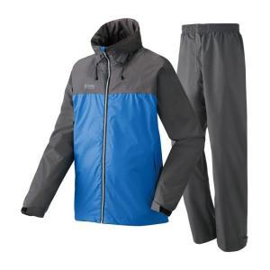 ロゴス 蒸れを追放・OVSレインスーツ ピート L 15(ロイヤルブルー)|naturum-outdoor