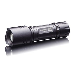 ライト本体 ジェントス 閃(セン) SG-335 32.8mm シルバー|naturum-outdoor
