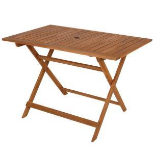 ガーデンファニチャー キャプテンスタッグ サンフォレスト FDロングテーブル 110 naturum-outdoor