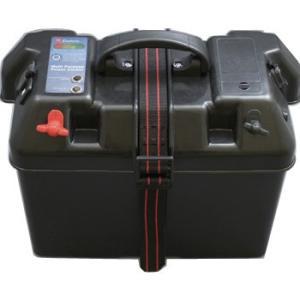 魚探・エレキ・船外機 bmojapan バッテリーBOX インジケーター付(USB対応)60Aヒューズ付|naturum-outdoor