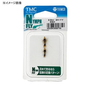完成フライ ティムコ 完成品フライセット ニンフフライセレク...
