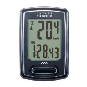 サイクルアクセサリー キャットアイ CC-VT230W ベロ ワイヤレス Velo Wireless BK(ブラック)|naturum-outdoor