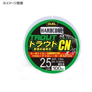 HARDCORE((ハードコア) 管釣トラウトCN 100m 0.5号/2Lbs ライムグリーン